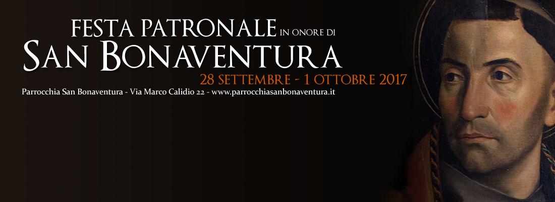 Festa Patronale in onore di San Bonaventura
