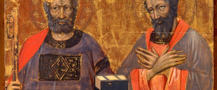 Solennità di San Pietro e Paolo 29 giugno 2018