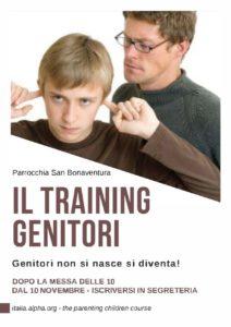 Training per i genitori