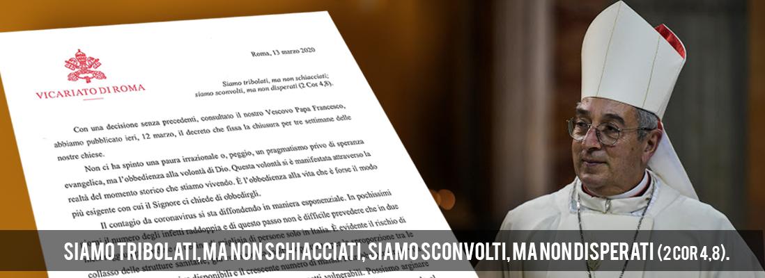 Lettera del Card. Angelo De Donatis